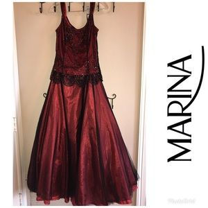 Gorgeous formal two piece dress